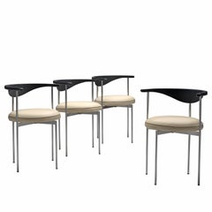 Frederik Sieck Set of Four Dining Chairs