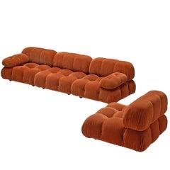 Mario Bellini 'Camaleonda' Orange Modular Sofa