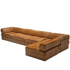 De Sede DS88 Cognac Leather Sofa for De Sede