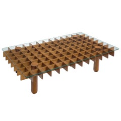 Gianfranco Frattini Graphical Kyoto Coffee Table