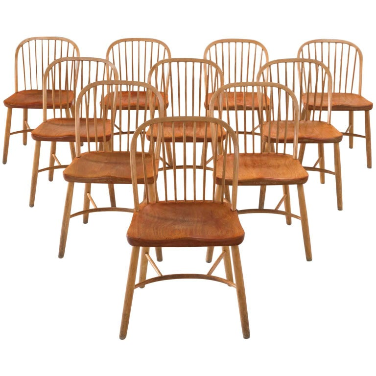 Palle Suenson dining chairs