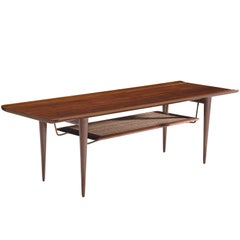 Peter Hvidt & Orla Mølgaard Nielsen Rare Rosewood Coffee Table