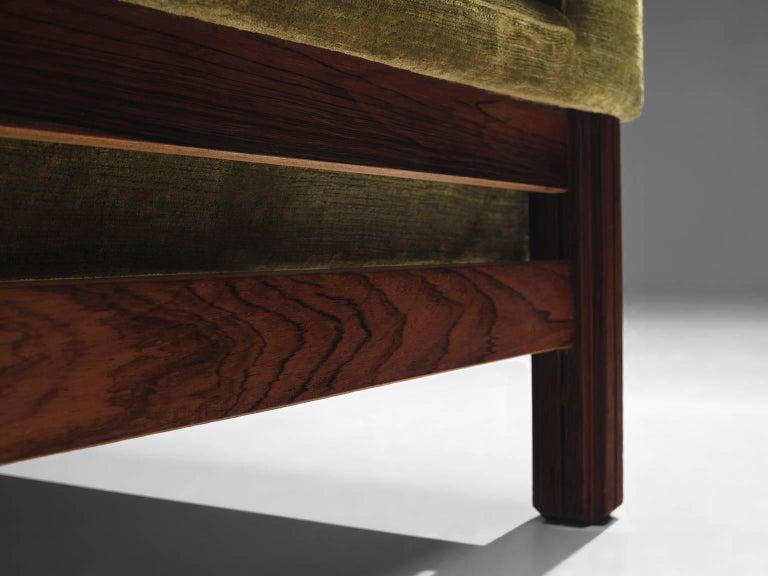 Saporiti Living Room Set in Original Velvet For Sale 2
