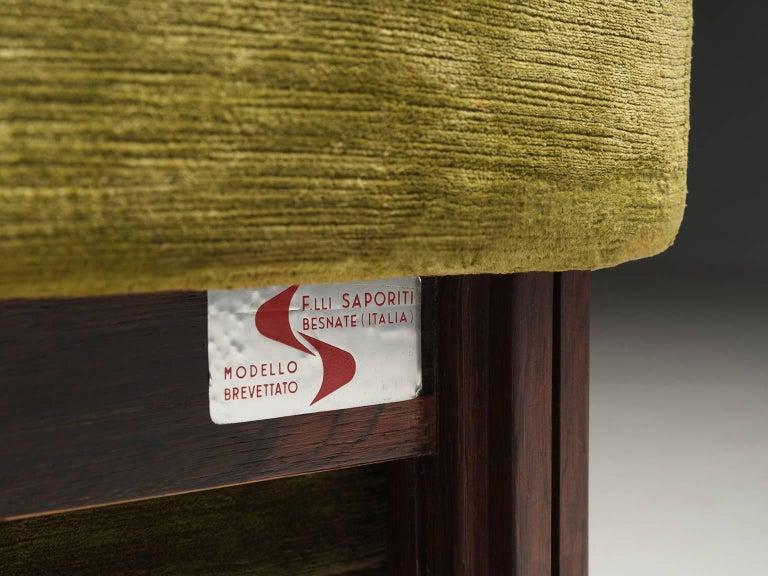 Saporiti Living Room Set in Original Velvet For Sale 3