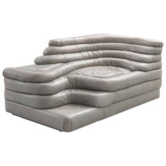 De Sede 'Terrazza' Landscape in Grey Leather