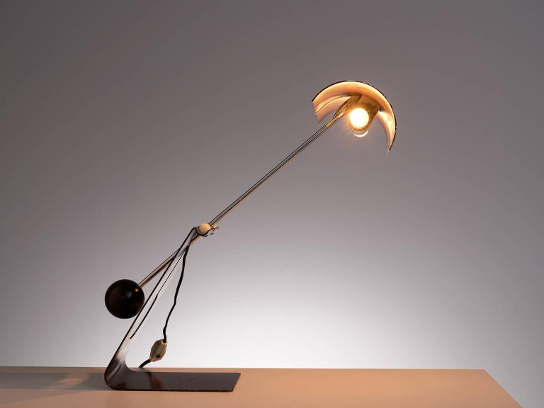 Italian Mauro Martini for Fratelli 'Picchio' Table Lamp, circa 1960 For Sale