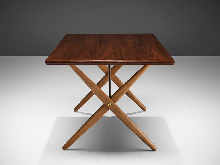 Hans J. Wegner for Andreas Tuck Table In Good Condition For Sale In Waalwijk, NL