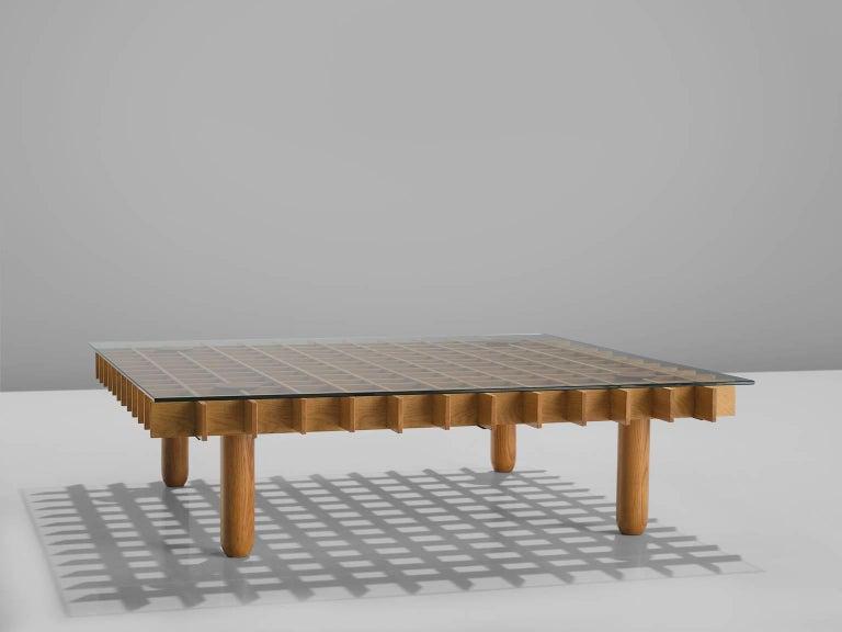 Mid-Century Modern Gianfranco Frattini 'Kyoto' Coffee Table For Sale