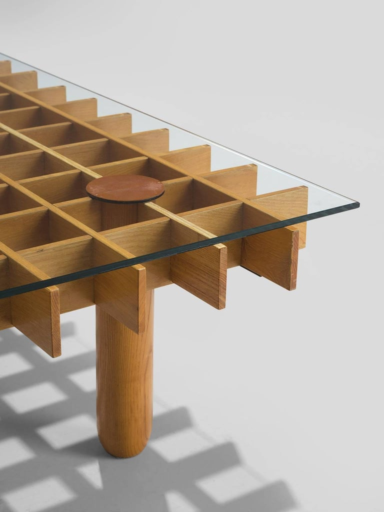 Late 20th Century Gianfranco Frattini 'Kyoto' Coffee Table For Sale