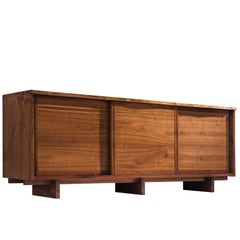 George Nakashima Triple-Door Cabinet