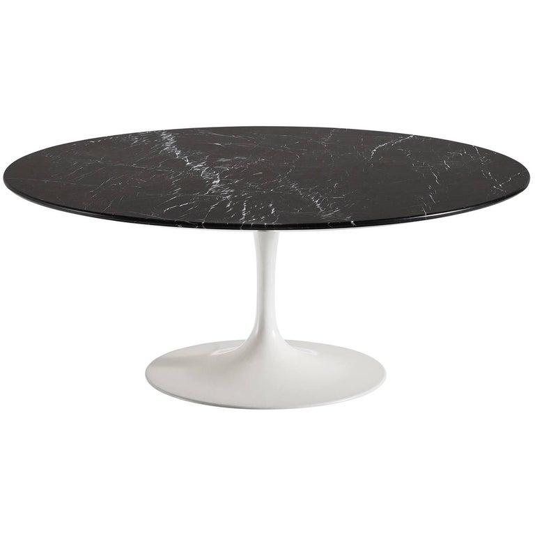 Eero Saarinen Nero Marble Coffee Table