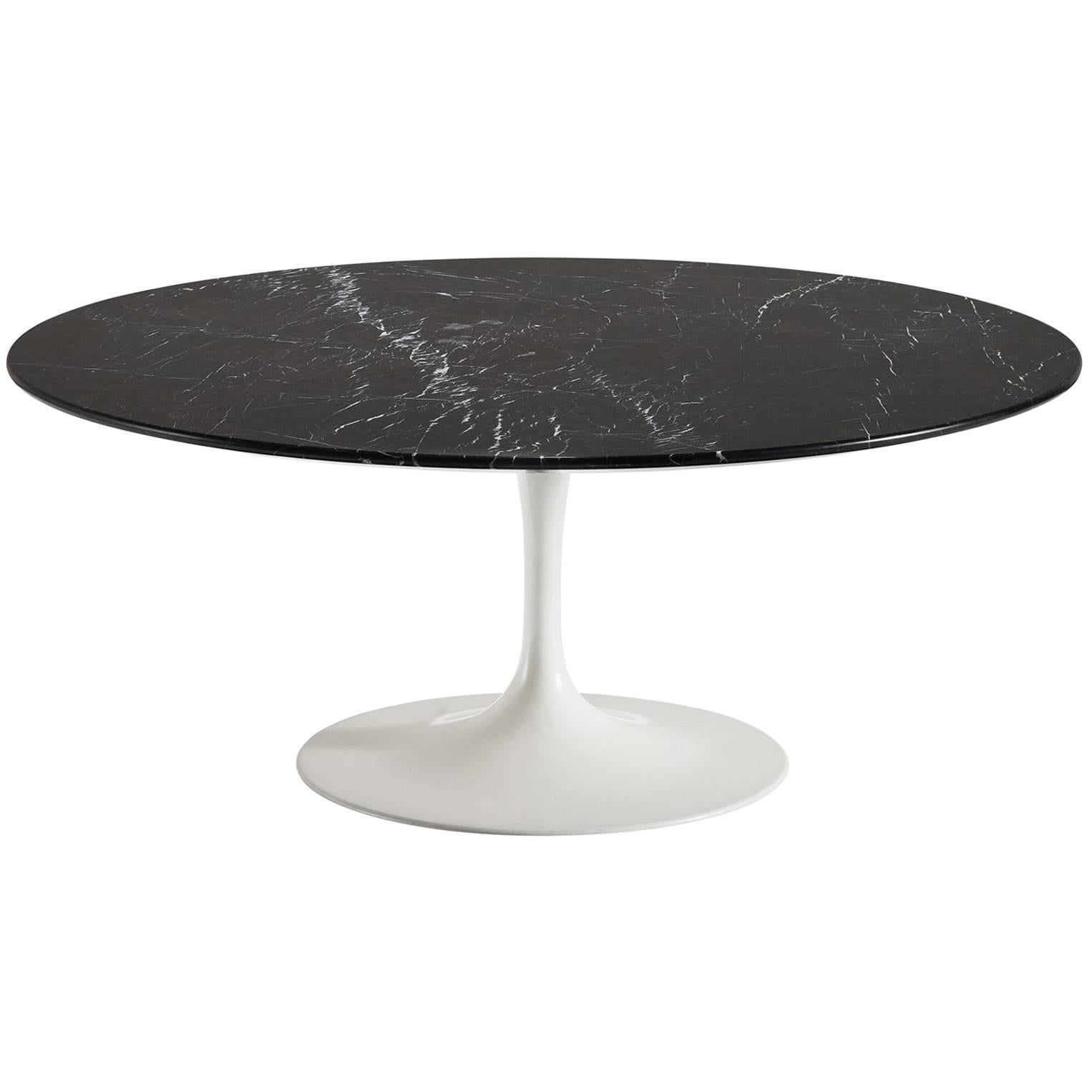 Eero Saarinen Nero Marble Coffee Table