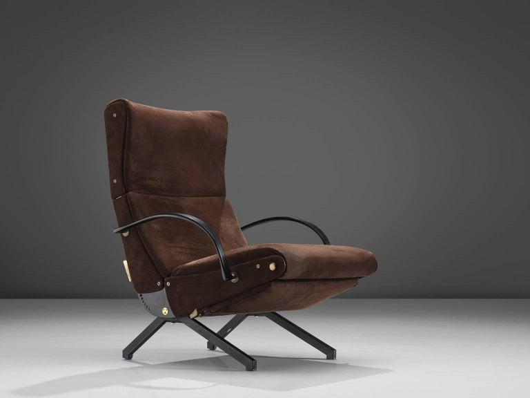 Mid-Century Modern Osvaldo Borsani for Tecno P40 Lounge Chair For Sale