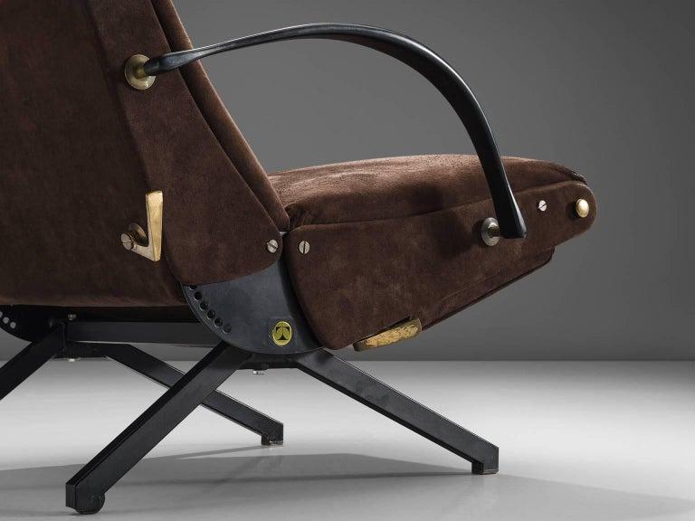 Mid-20th Century Osvaldo Borsani for Tecno P40 Lounge Chair For Sale