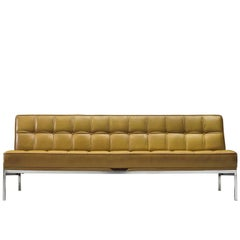 Johannes Spalt for Wittmann 'Constanze' Leather Daybed