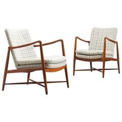 Finn Juhl Set of 'Westermanns' Fireplace Chairs in Teak