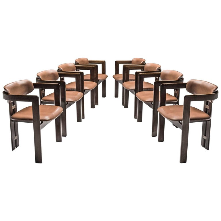 Augusto Savini Set of Eight 'Pamplona' Chairs