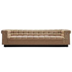 Edward Wormley 'Party' Sofa in Beige Fabric
