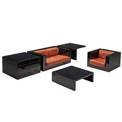 Massimo Vignelli 'Saratoga' Living Room Set for Poltronova
