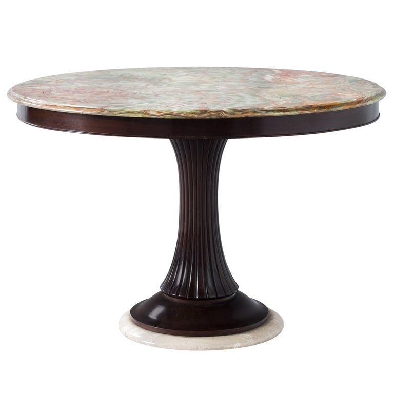 Osvaldo Borsani Pedestal Table