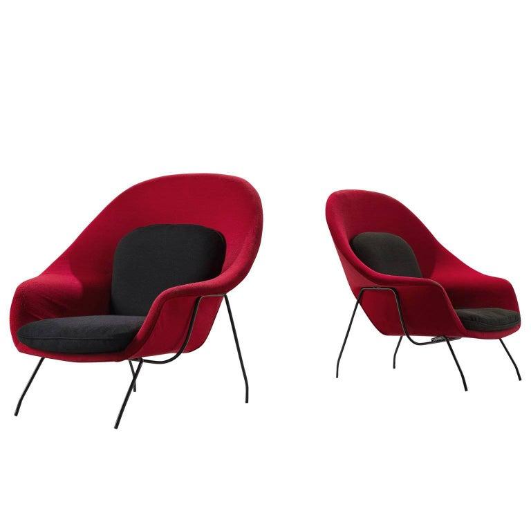 Womb Chairs by Eero Saarinen for Knoll