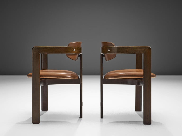 Mid-20th Century Augusto Savini Set of Eight 'Pamplona' Chairs For Sale