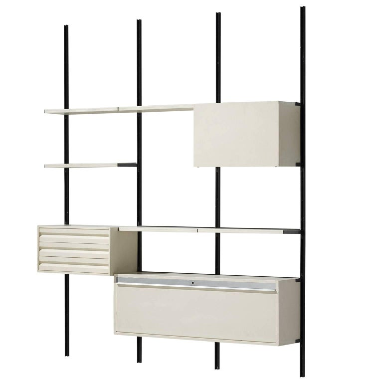 Osvaldo Borsani Wall Unit for Tecno, 1950s