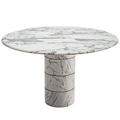 Postmodern Italian Marble Centre Table