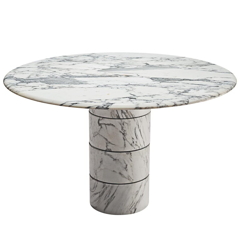 Postmodern Italian Marble Centre Table