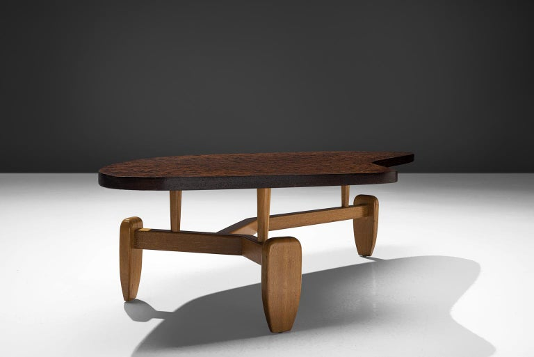 American John Keal 'Outrigger' Coffee Table For Sale
