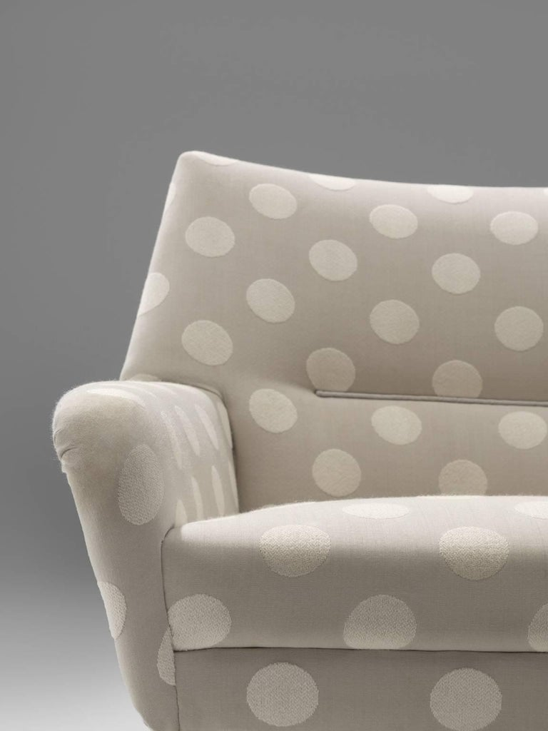 Fabric Pair of Scandinavian Easy Chairs, circa 1960 For Sale