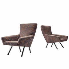 Augusto Magnaghi and Mario Terzaghi Pair of Armchairs