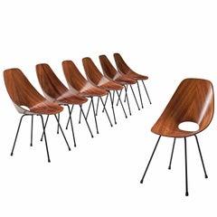 Seven Vittorio Nobili 'Medea' Chairs