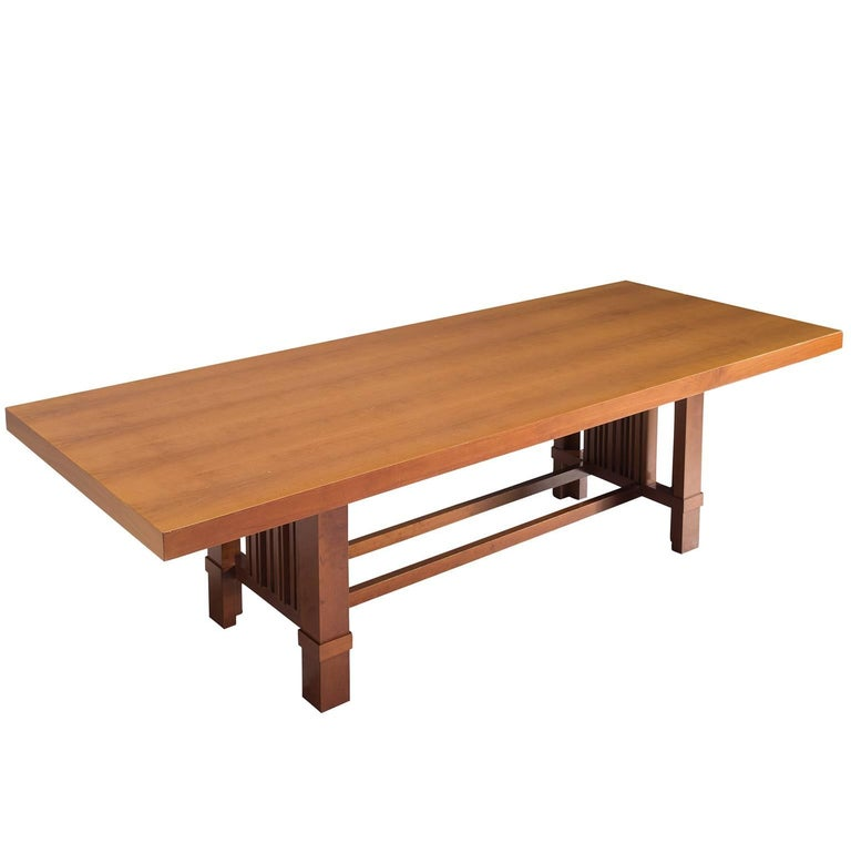 Frank Lloyd Wright 'Taliesin' Dining Table for Cassina