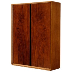 De Coene 'Madison' Wall-Mounted Bar Cabinet in Walnut