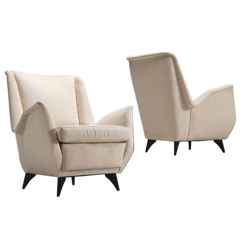 Pair of Italian Lounge Chairs by ISA