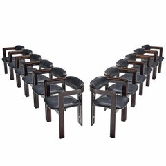 Augusto Savini Set of Twelve 'Pamplona' Chairs