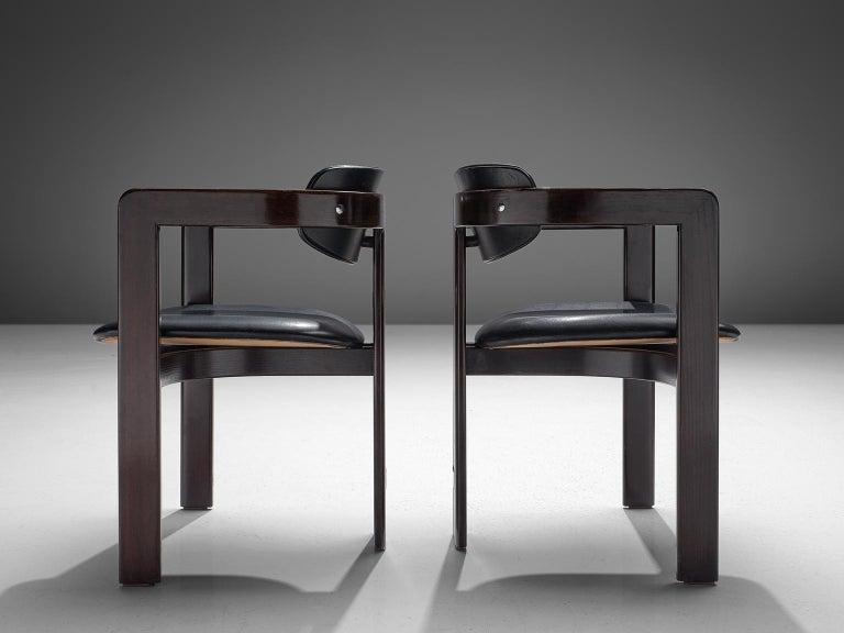 Augusto Savini Set of Twelve 'Pamplona' Chairs In Good Condition For Sale In Waalwijk, NL
