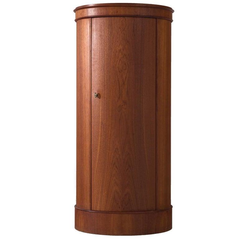 Curved Cabinet by Nexø Møbelfabrik For Sale