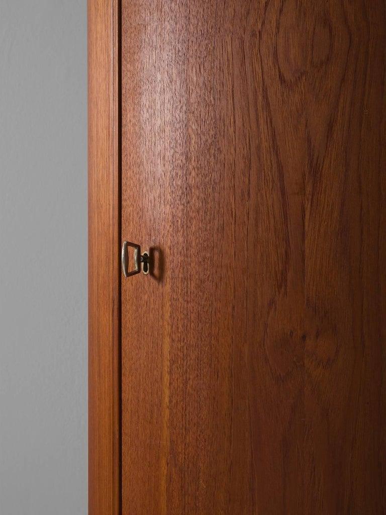 Danish Curved Cabinet by Nexø Møbelfabrik For Sale