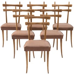 Italian Dining Chairs in Oak