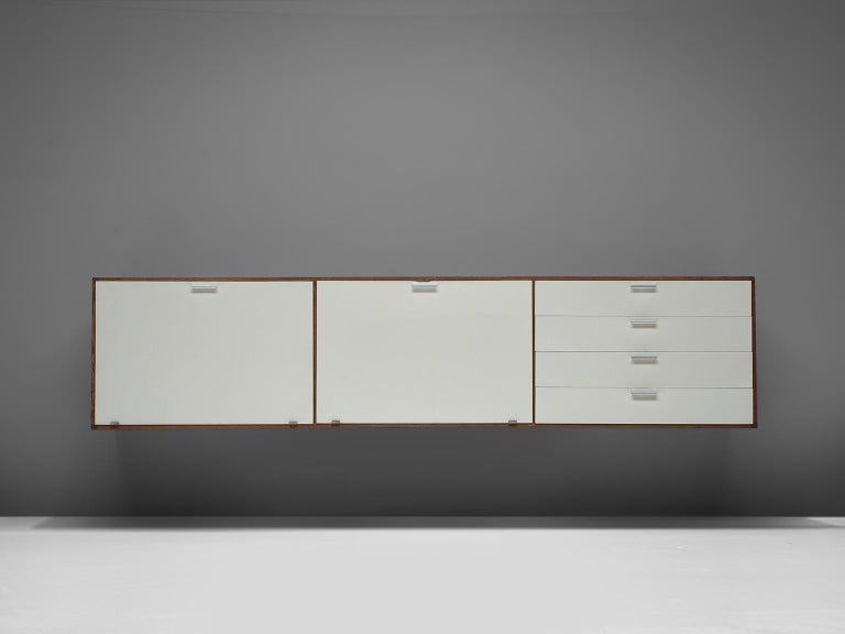 Mid-Century Modern Cees Braakman for Pastoe Wengé Wooden Sideboard For Sale