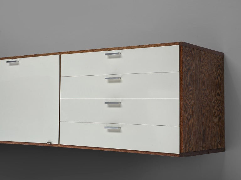 Mid-20th Century Cees Braakman for Pastoe Wengé Wooden Sideboard For Sale