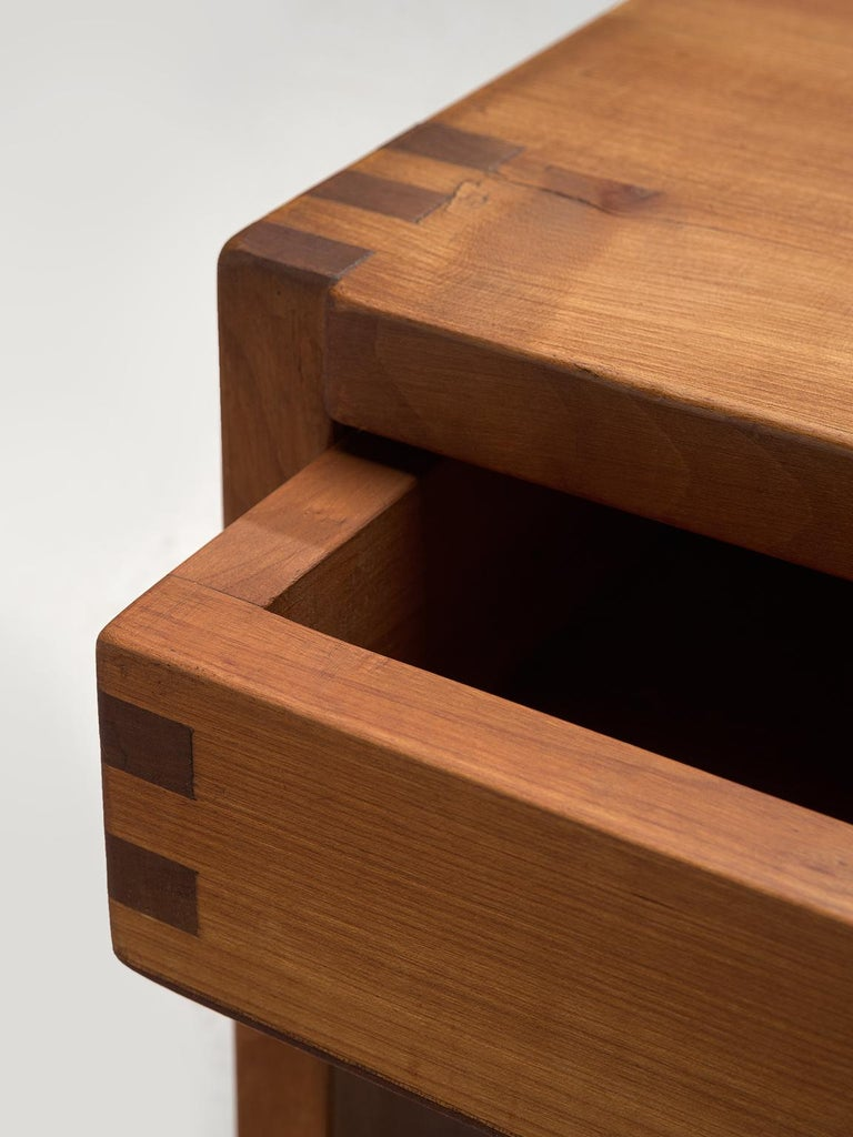 Mid-20th Century Pierre Chapo Solid Elm Nightstand For Sale