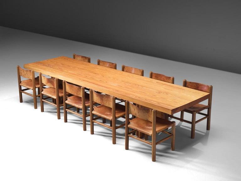Mid-Century Modern Rafael De La Joya Castro Dining Set For Sale
