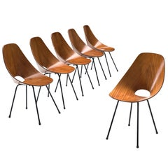 Six Vittorio Nobili 'Medea' Chairs