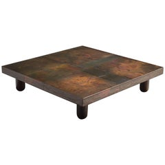 Lorenzo Burchiellaro Coffee Table in Copper