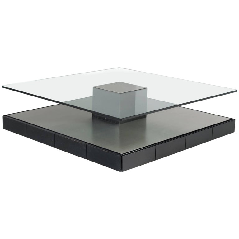 Marco Fantoni Large Coffee Table for Tecno For Sale