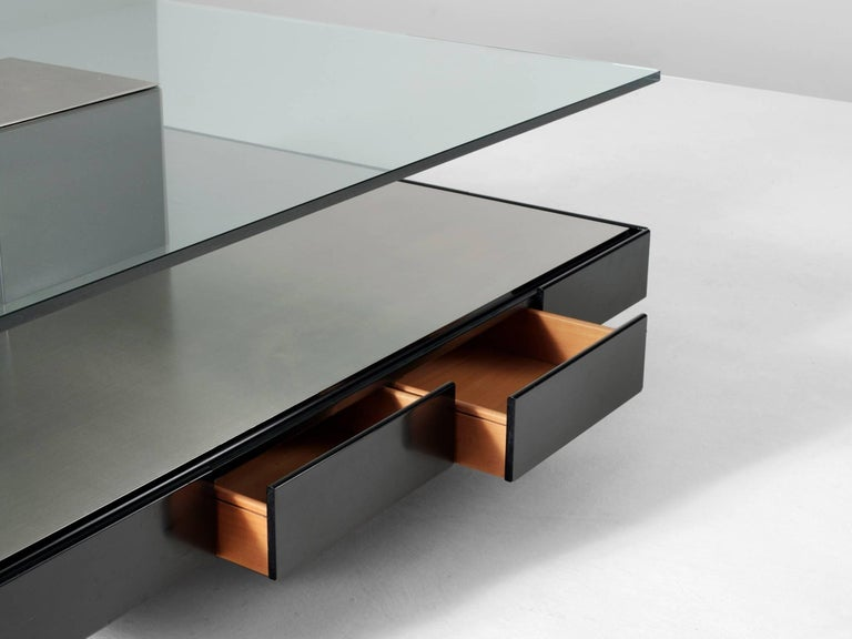 Italian Marco Fantoni Large Coffee Table for Tecno For Sale