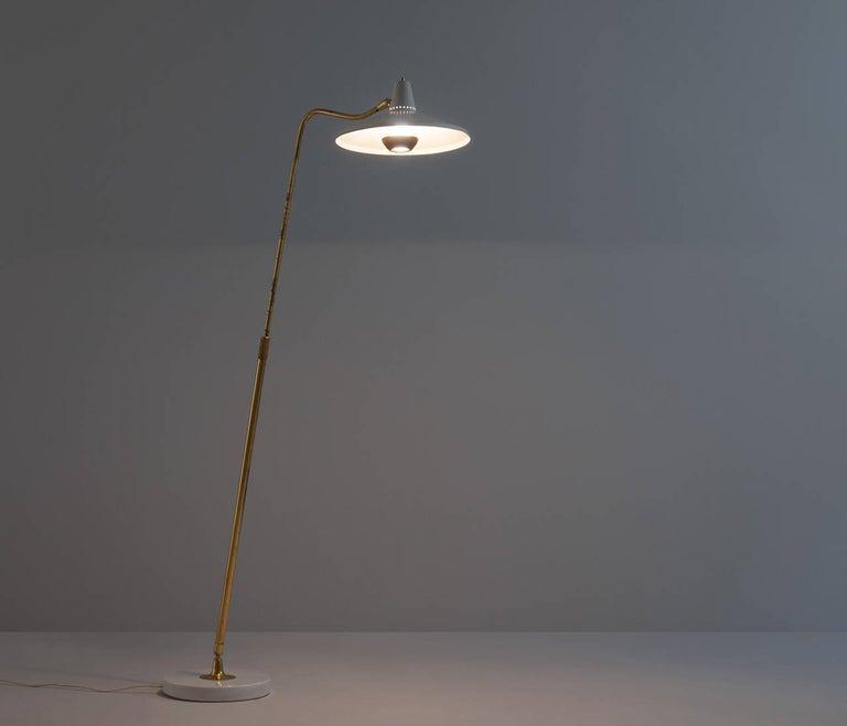 Mid-20th Century Giuseppe Ostuni '301C' Floor Lamp for O-Luce For Sale